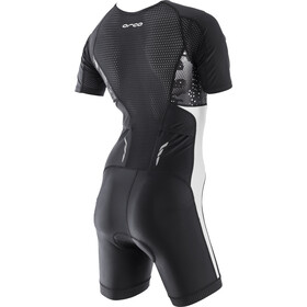ORCA Core SS Racesuit Damer, black/white